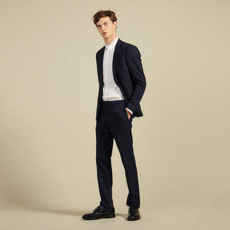 Sandro Slim fit wool suit trousers