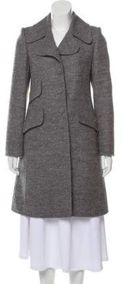 Marc Jacobs Notch-Lapel Knee-Length Coat