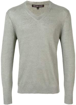 MICHAEL Michael Kors v-neck longsleeve sweater