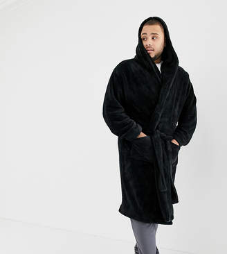 Mens Hooded Dressing Gown Shopstyle Uk