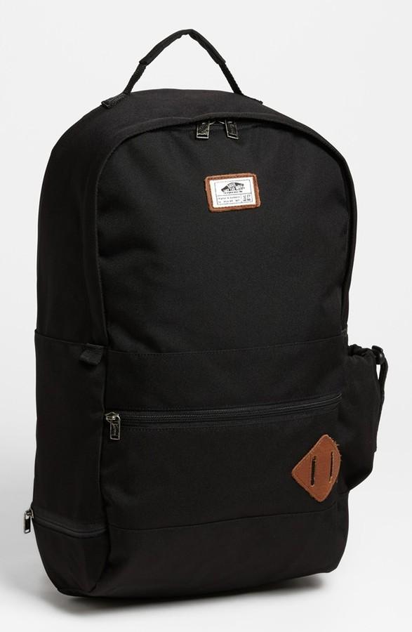 Vans 'Van Doren II' Backpack Black Waxed One Size