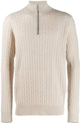 Brunello Cucinelli cable knit jumper