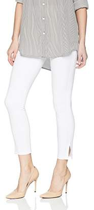 Lysse Women's April Light Weight Ponte Ankle Legging with Embroidery
