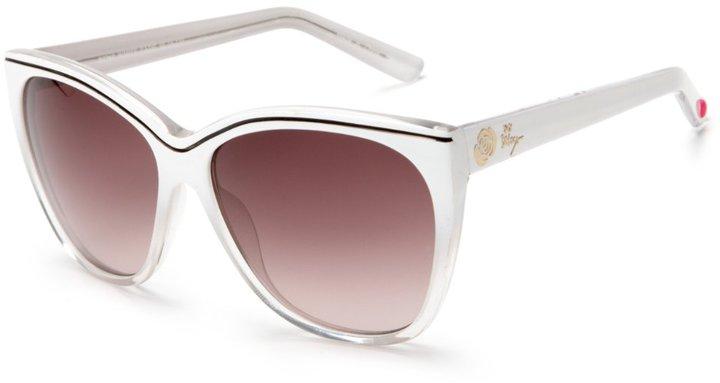 Betsey Johnson Women's BJ262 Square Sunglasses