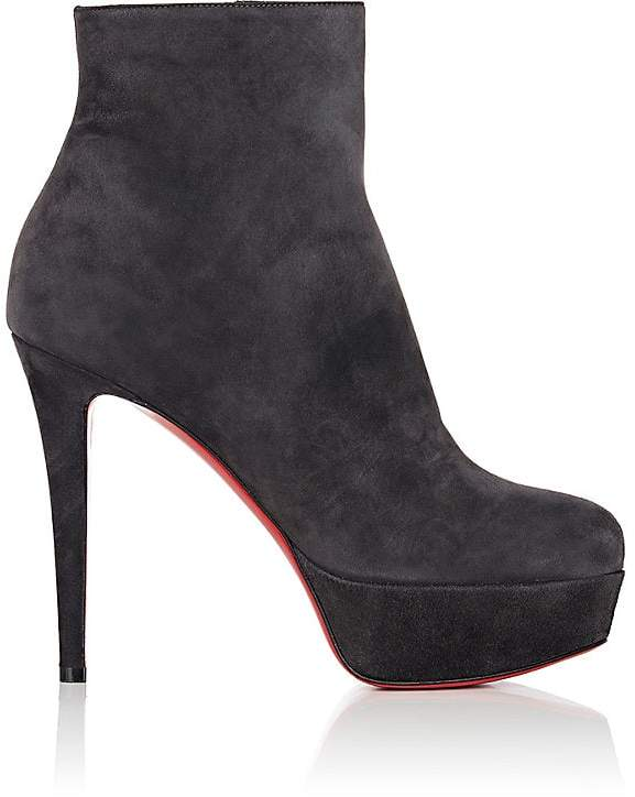 Christian Louboutin Women's Bianca Suede Ankle Boots