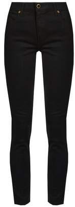 Khaite - Kassandra Mid Rise Skinny Leg Jeans - Womens - Black