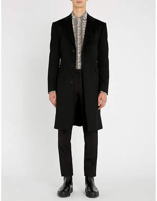 Crombie Wool and cashmere-blend coat