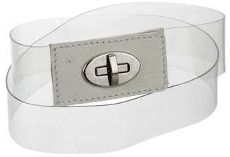 L'Agence Leather PVC Belt
