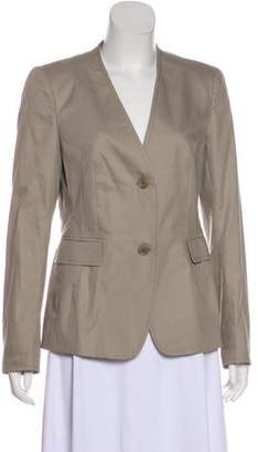 Akris Punto Collarless Button-Up Blazer