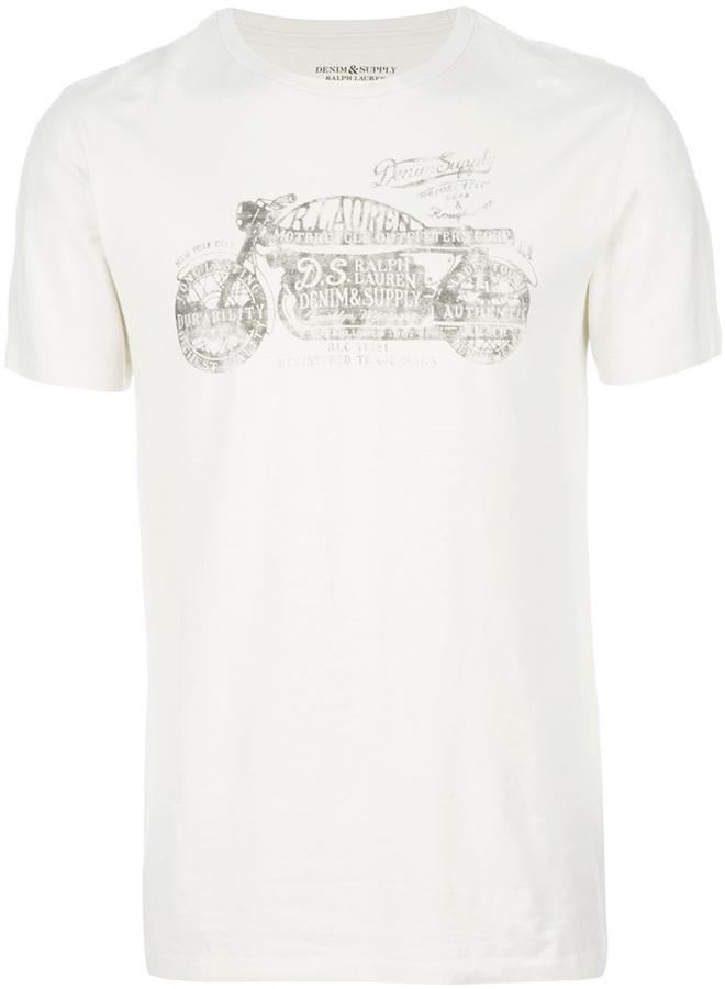 Ralph Lauren Denim & Supply short sleeve printed t-shirt