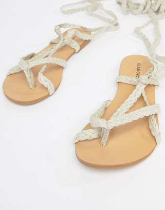 Glamorous Strappy Flat Sandals
