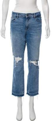 DL1961 Mid-Rise Cropped Jeans