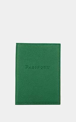 Barneys New York MEN'S PASSPORT CASE - GREEN