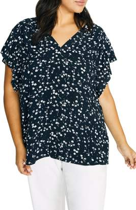 Sanctuary Countryside Floral Flowy Top