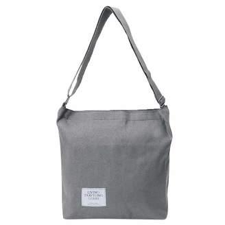 Yangxiyan Canvas Handbag Women Shoulder Bag,Ladies Casual Satchel