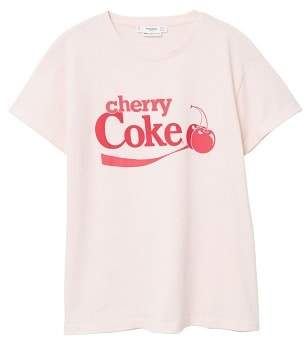MANGO Cherry Coke t-shirt