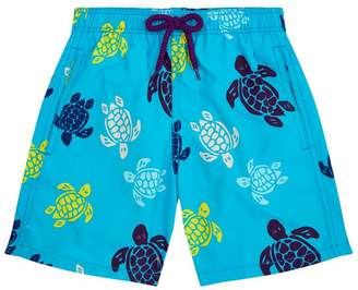 Vilebrequin Turtle Print Swim Shorts