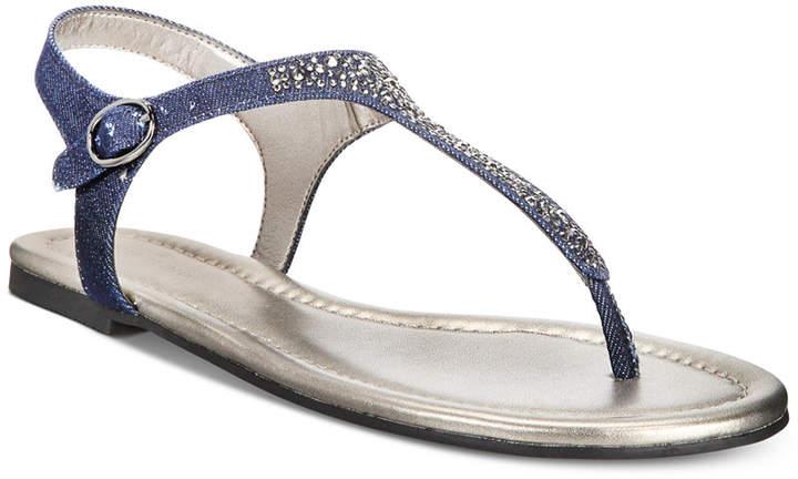 Bandolino Kyrie Embellished Flat Sandals Women's Shoes