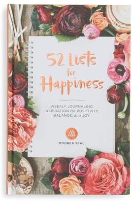 Penguin Random House 52 Lists for Happiness Journal