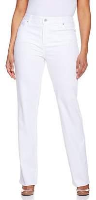 NYDJ Women's Plus-Size Plus Marilyn Straight Colored Denim Jeans