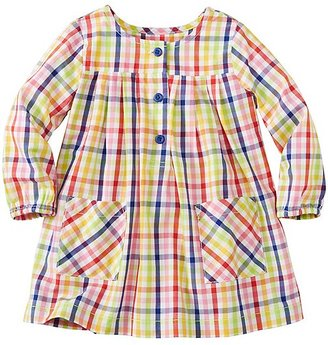 Toddler Basketweave Pleat & Pocket Tunic Dress $45 thestylecure.com