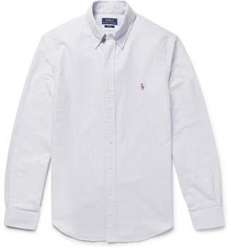 Polo Ralph Lauren Slim-Fit Striped Cotton Oxford Shirt
