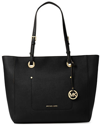 MICHAEL Michael Kors Michael Kors Collection Ring Leather Tote