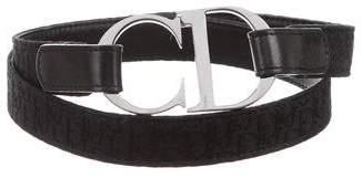 Christian Dior Diorissimo Logo Belt