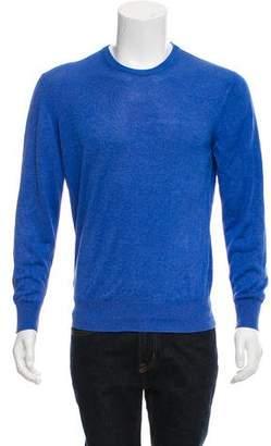 Loro Piana Silk Crew Neck Sweater