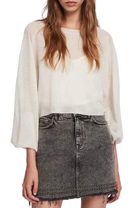 AllSaints Mali Batwing Sleeve Sweater