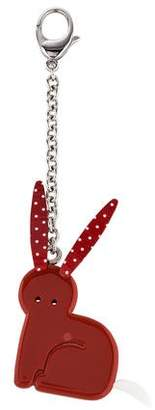 Marc Jacobs Acrylic Bunny Keychain