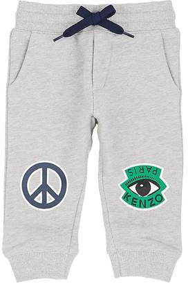 Kenzo Infants' Graphic-Print Cotton French Terry Pants