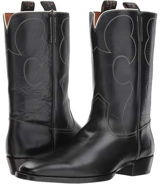 Frye Miles Vintage Stitch Pull-On Cowboy Boots