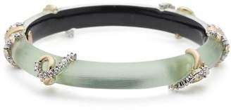 Alexis Bittar Pavé Knots Bangle Bracelet