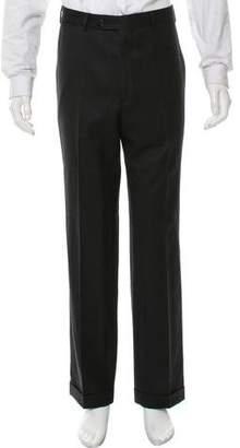 Cerruti Wool Flat Front Pants