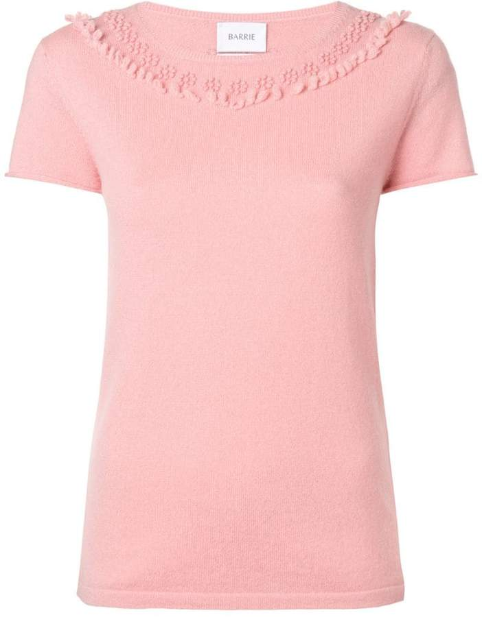 Barrie cashmere T-shirt