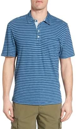 True Grit Stripe Jersey Polo