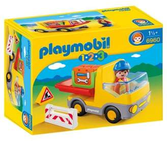 Playmobil 6960 123 Construction Truck