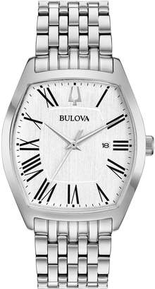 Bulova Women's Stainless Classic Dress BraceletWatch