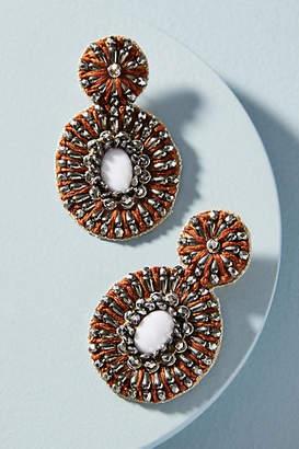 Anthropologie Well-Embellished Drop Earrings