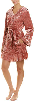Betsey Johnson Peace, Love, And Rock N Roll Robe