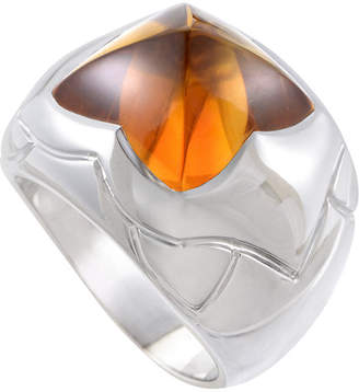 Bulgari Heritage  18K Citrine Ring
