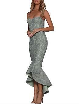 Elle Zeitoune Maxwell Bustier Fluted Dress