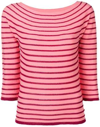 Twin-Set striped knit jumper