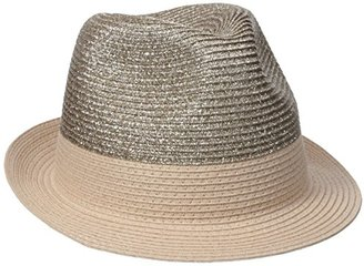 Collection XIIX Women's Lurex Fedora Hat $19.34 thestylecure.com