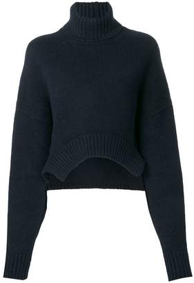 Golden Goose curved hem jumper