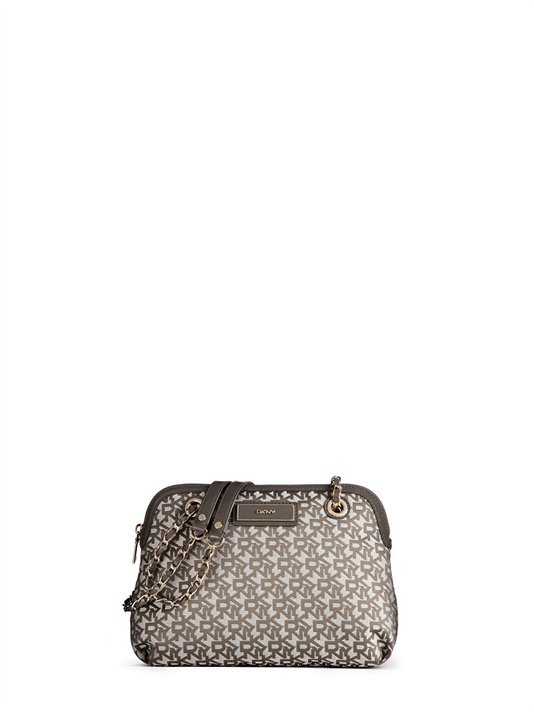DKNY Town & Country Patent Round Crossbody