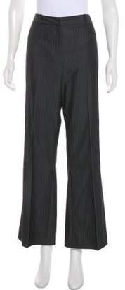 Tahari Arthur S. Levine High-Rise Wide-Leg Pants