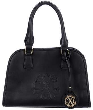 Christian Lacroix Logo-Embossed Leather Bag