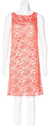 Anna Sui Lace Mini Dress